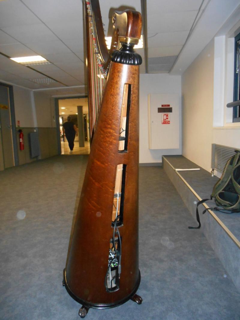 Présentation de la harpe triple galloise 11-08-13