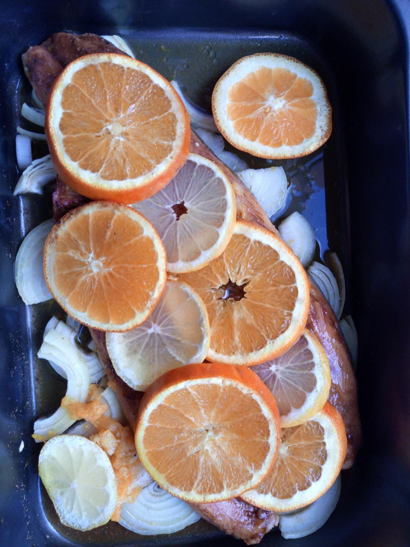 Сьомгова пъстърва с портокали Img_2033