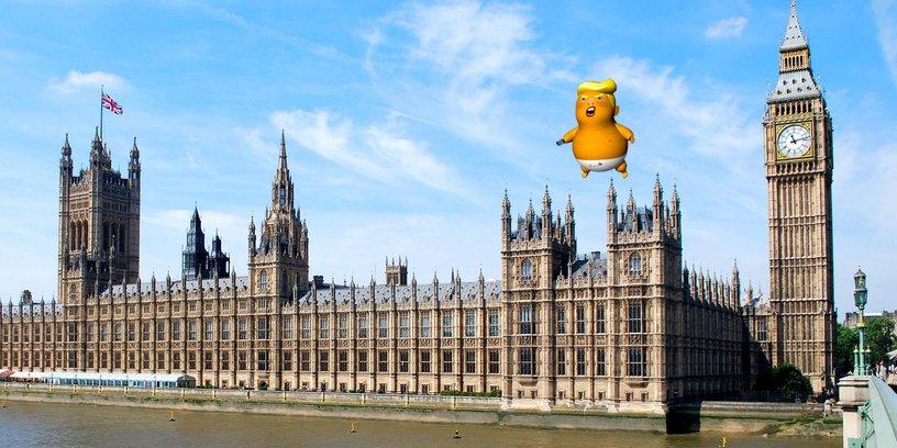 Трампа надуют в Лондоне Baby_t10