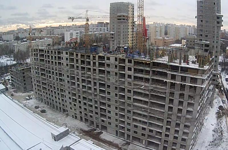 Строительство 4 корпуса 09011