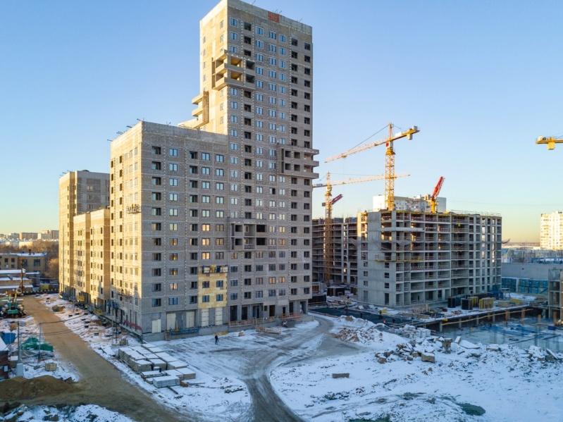 Строительство 3 корпуса  12110