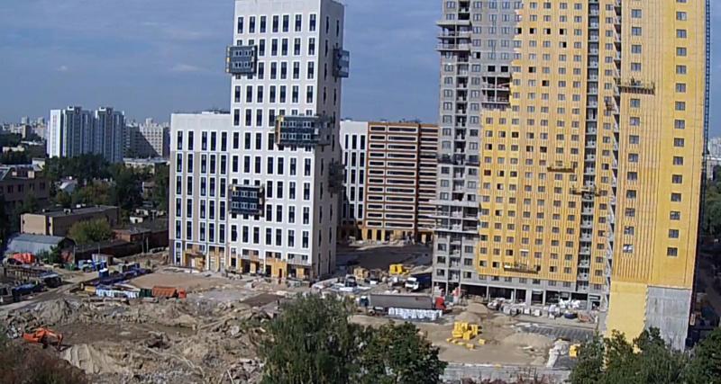 """Веб-камеры на площадке строительства ЖК """"Нормандия"""" - Страница 15 12310"""
