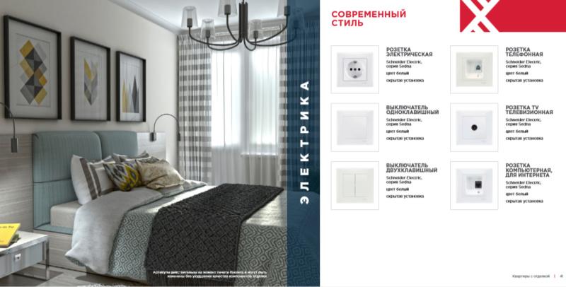 """ЖК """"Нормандия"""" - подробное описание квартир с отделкой от застройщика 1711"""