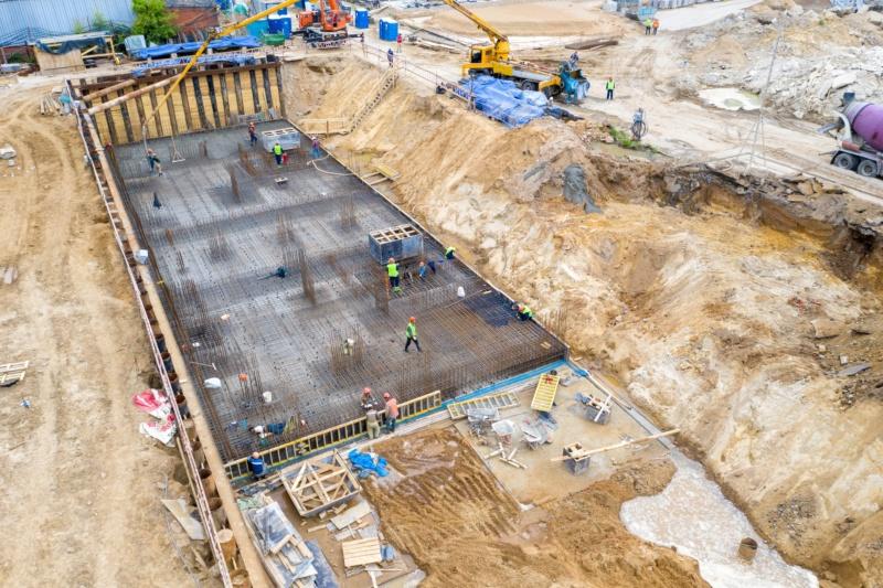 Строительство 1 корпуса 30210