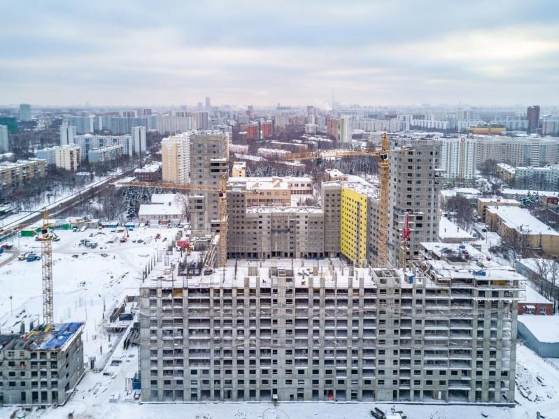 Строительство 4 корпуса 3511