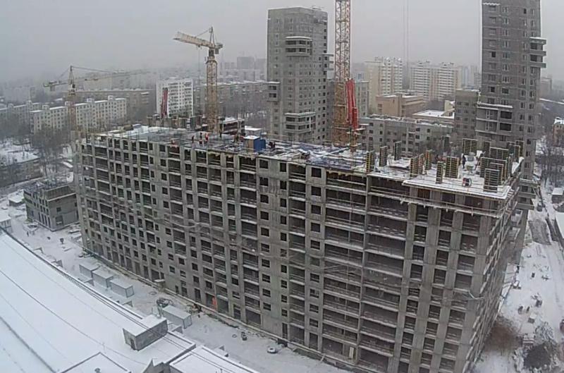 Строительство 4 корпуса 411