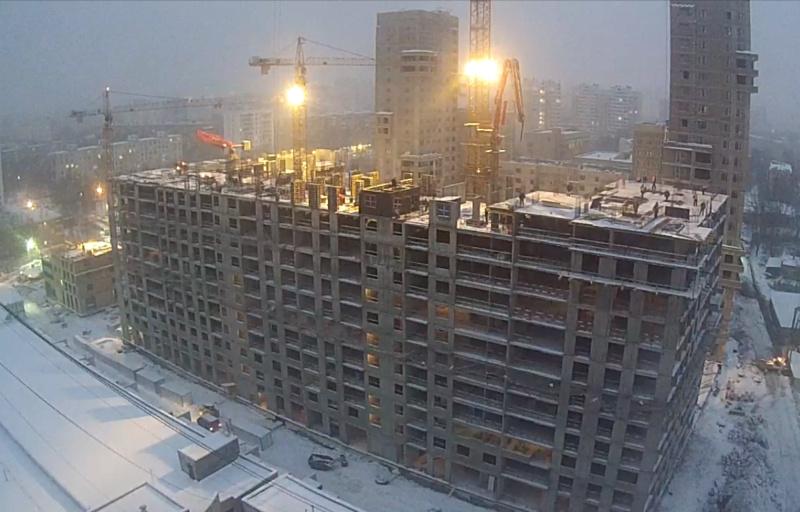 Строительство 4 корпуса 4110
