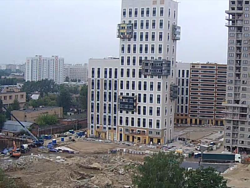 Строительство 1 корпуса 417