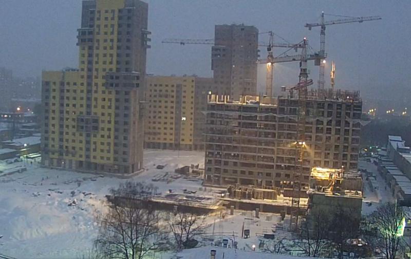 """Веб-камеры на площадке строительства ЖК """"Нормандия"""" - Страница 9 4211"""