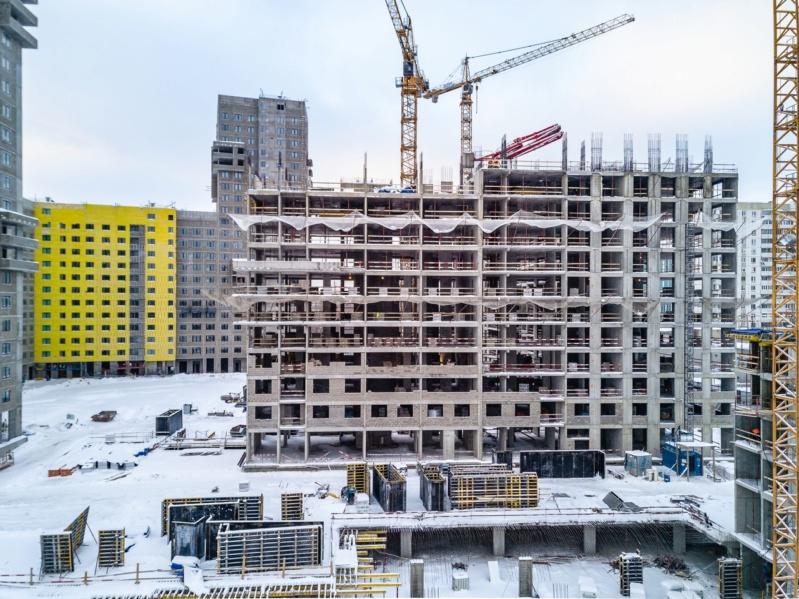 Строительство 4 корпуса 4310