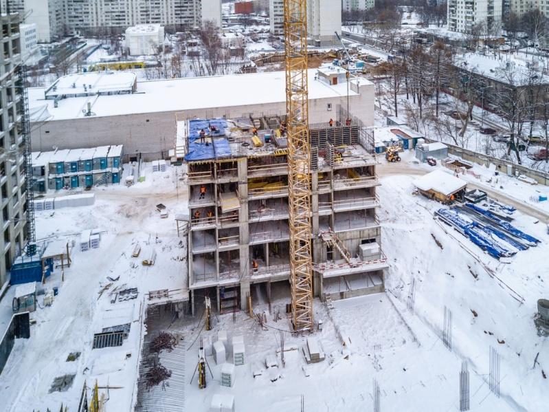 Строительство 5 корпуса 4511