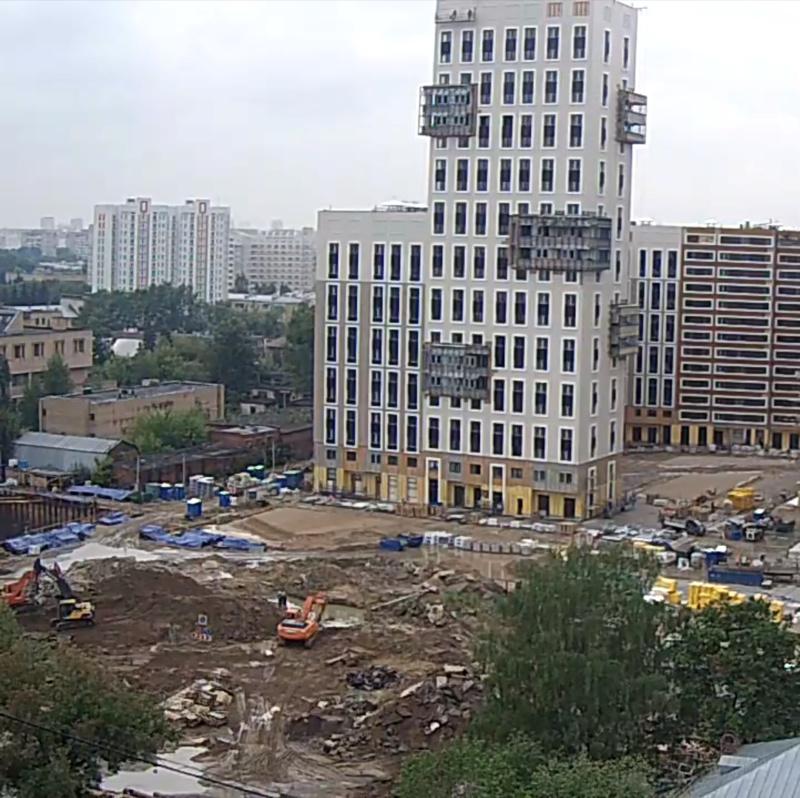 Строительство 1 корпуса 50710