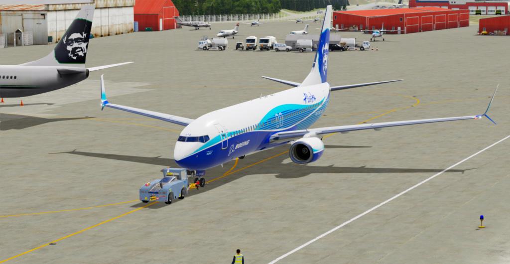 Voando pelo Alasca [Flight Report] 2020-718