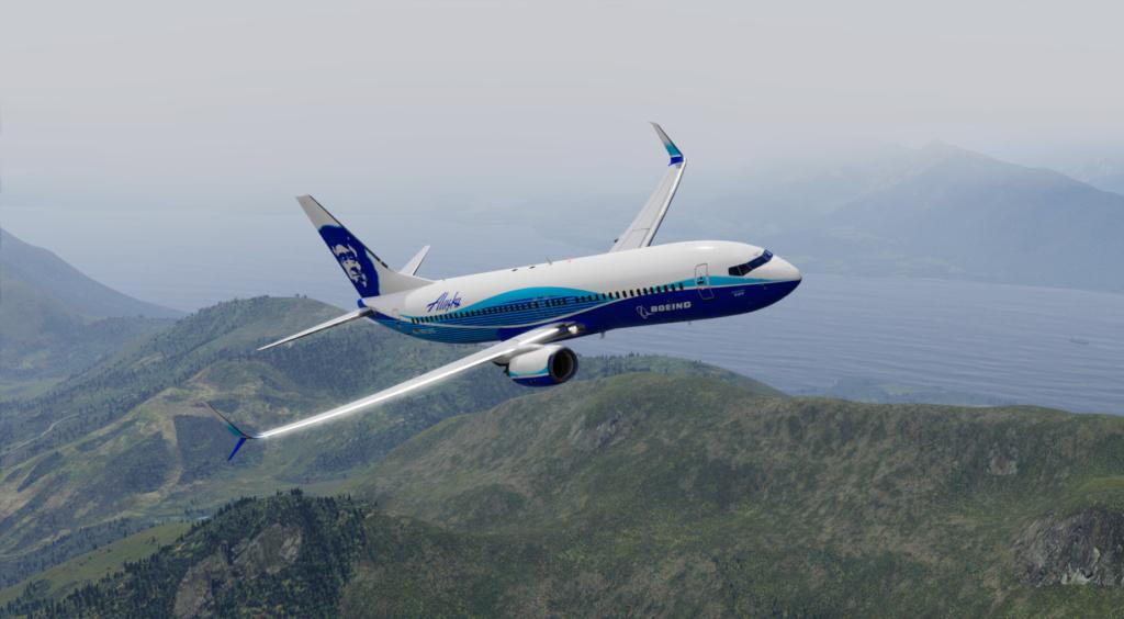 Voando pelo Alasca [Flight Report] 2020-720