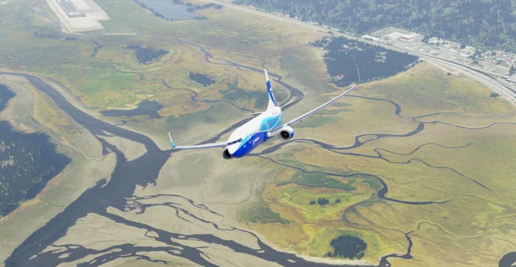 Voando pelo Alasca [Flight Report] 2020-721