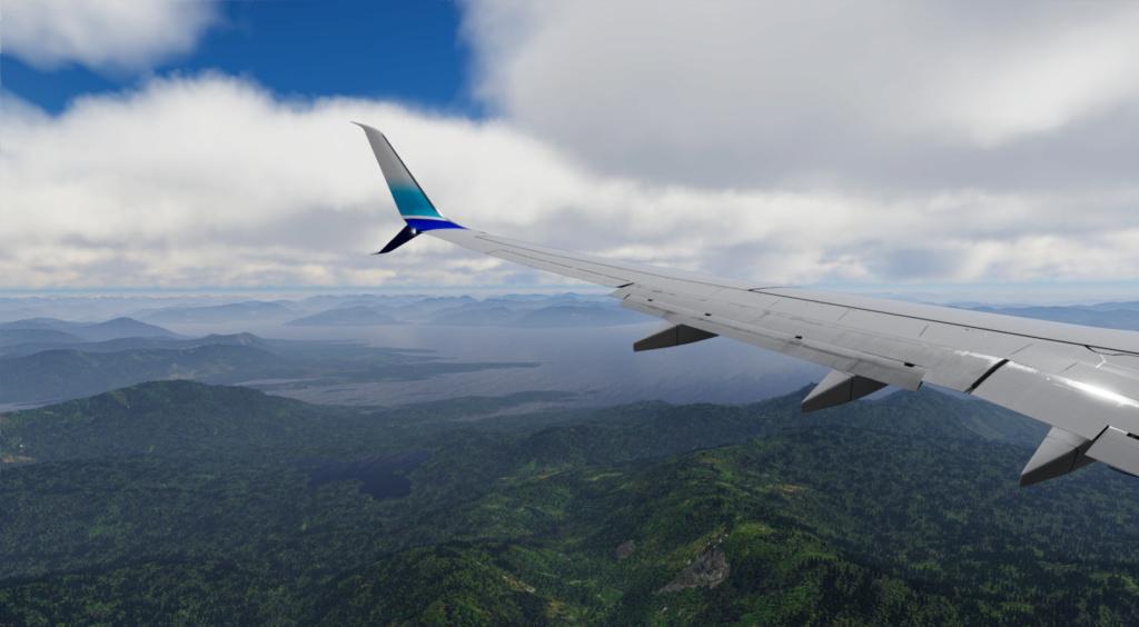 Voando pelo Alasca [Flight Report] 2020-722
