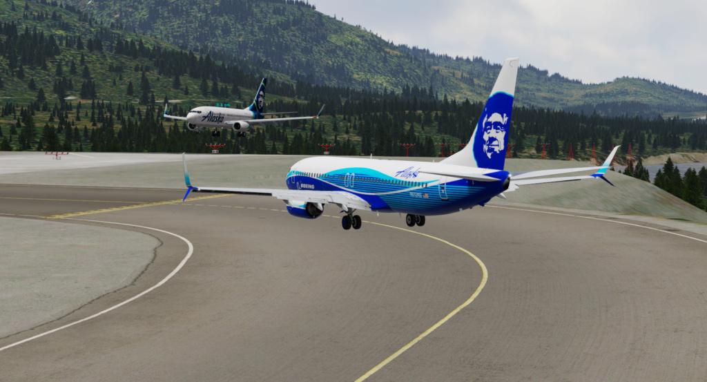 Voando pelo Alasca [Flight Report] 2020-726