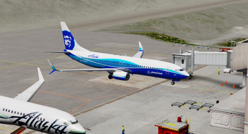 Voando pelo Alasca [Flight Report] 2020-727