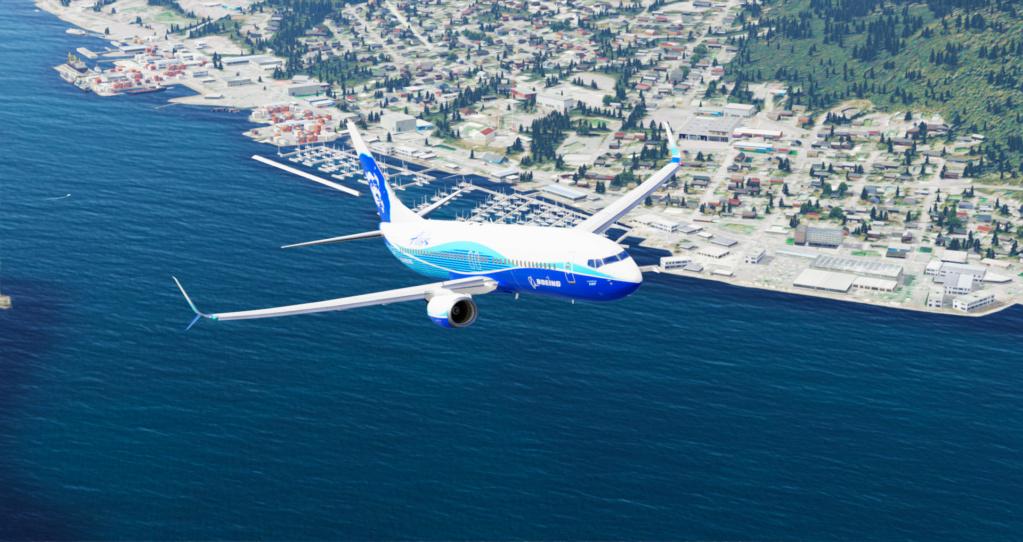 Voando pelo Alasca [Flight Report] 2020-730