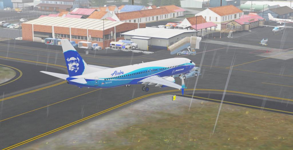 Voando pelo Alasca [Flight Report] 2020-733