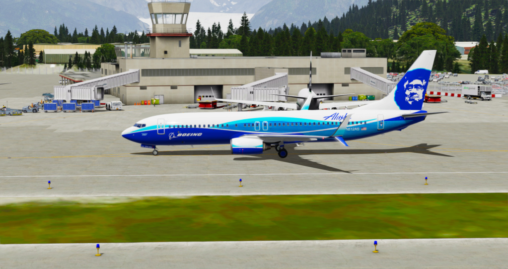 Voando pelo Alasca [Flight Report] 2020-735