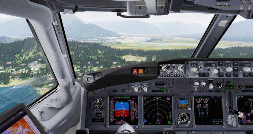 Voando pelo Alasca [Flight Report] 2020-736
