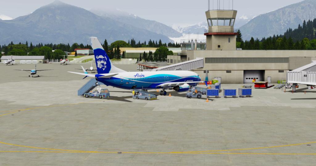 Voando pelo Alasca [Flight Report] 2020-737