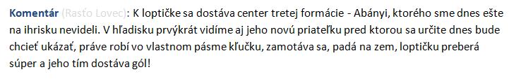 Hokejbalové hlášky komentátora Rasťa (part II) Abzeny10
