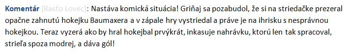 Hokejbalové hlášky komentátora Rasťa (part II) Komick10