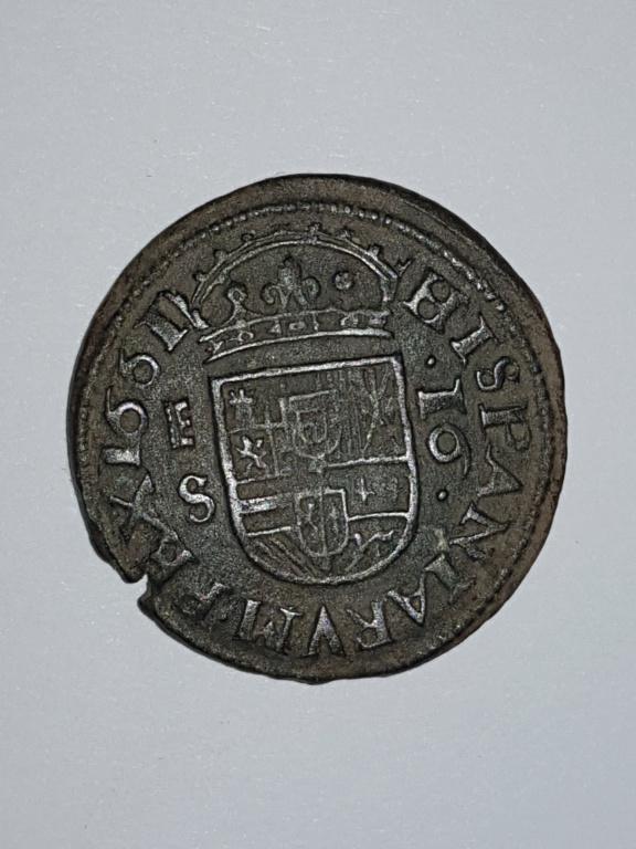 16 maravedis 1661 Segovia 20191111
