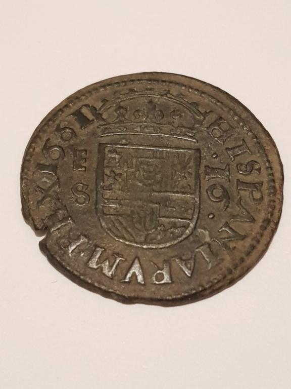 16 maravedis 1661 Segovia 20191113