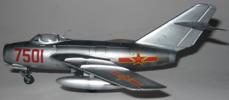 Обзор истребитель МиГ-15, 1-72, (Звезда 7317) J2k75010