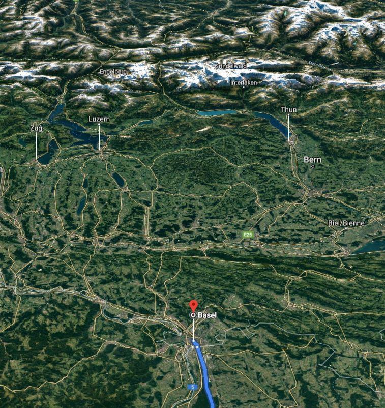 Roundtrip Denmark - Les alpes maritimes and back Calais10