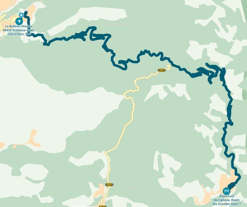 Roundtrip Denmark - Les alpes maritimes and back Coldet10