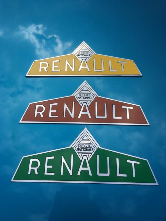 Reproduction de logo Régie Nationale Renault  8b58bc10