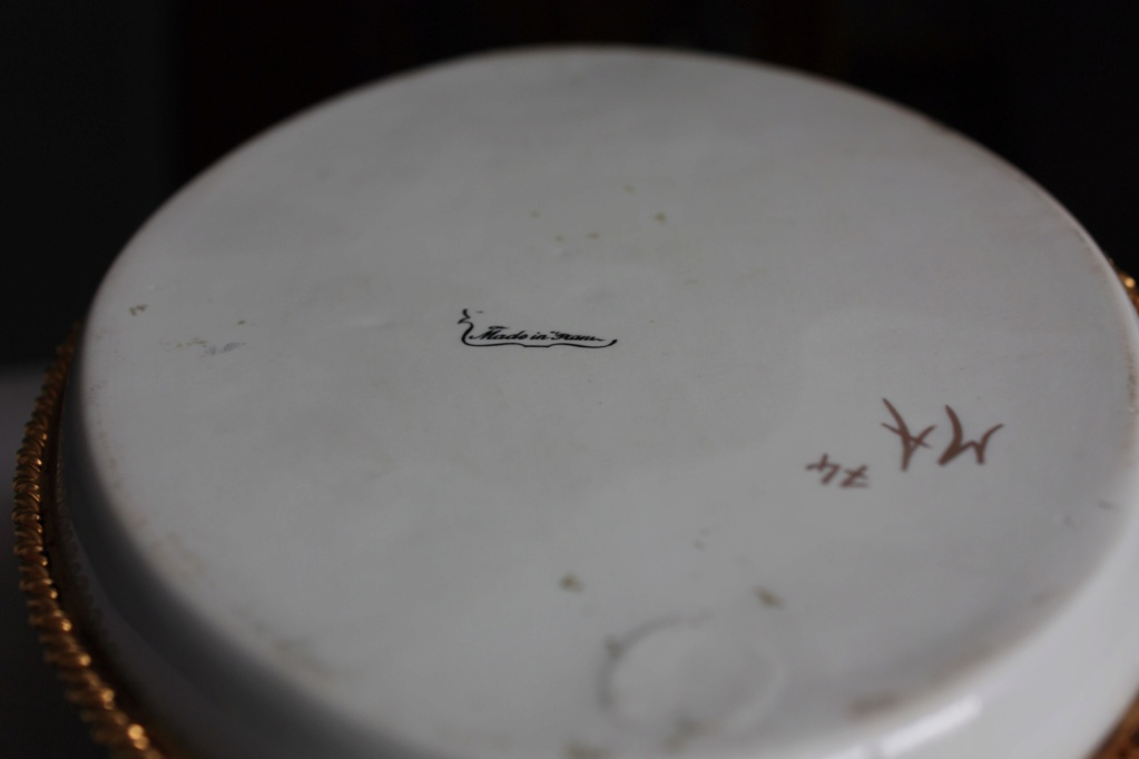 Sevres style porcelain tray Pic313