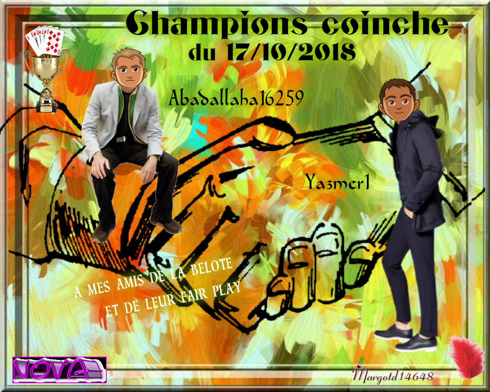 trophees coinche 17/10/2018 Abdall10