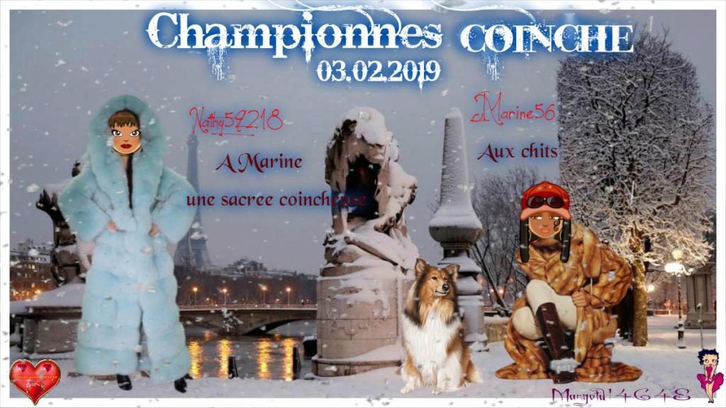 trophées coinche du 03.02.2019 Marine10