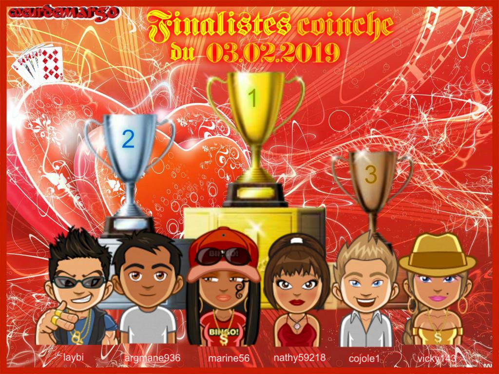 trophées coinche du 03.02.2019 Podium26