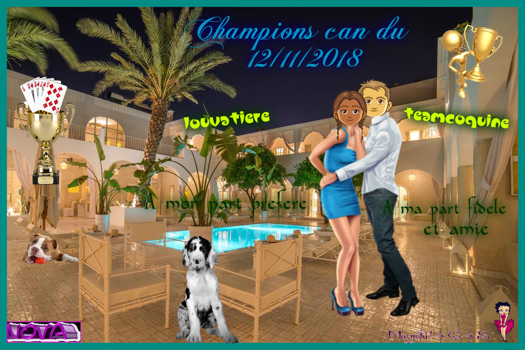 trophees can du 12/11/2018 Teamco10