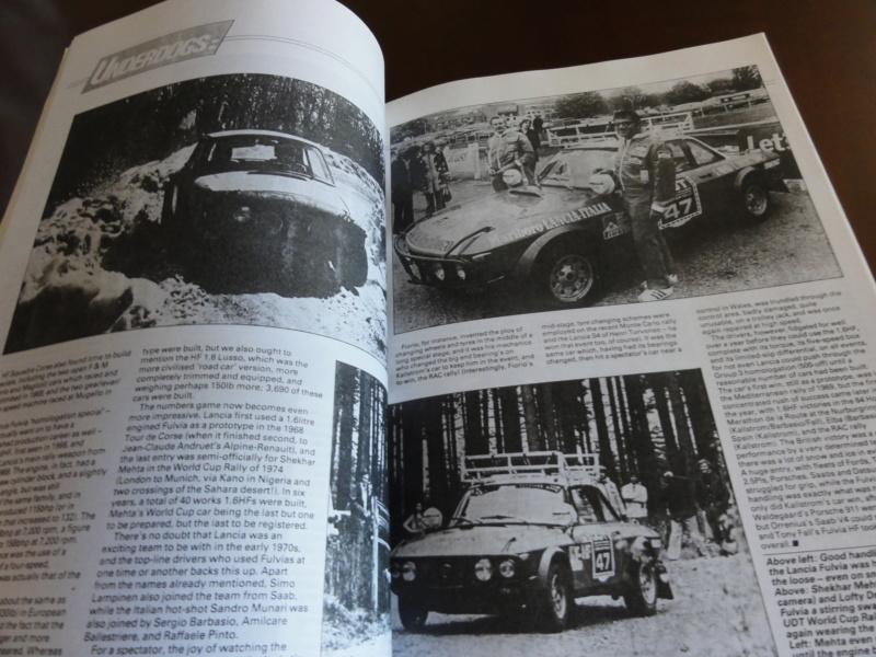 [Vendo-MI] Lancia Fulvia Saloon e Coupe' - roadtest articles adverts Fulvia14