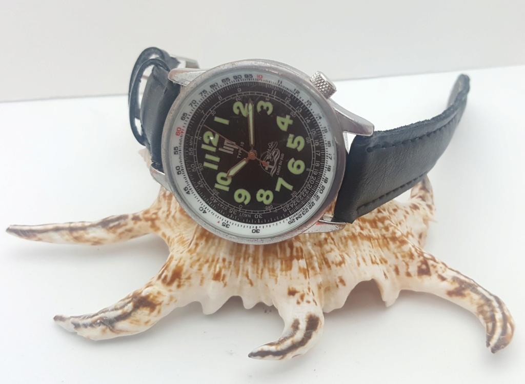 [Vendido] Relógio  LIP Type 10 Croix du Sud/Jean Mermoz Edt. - 100% OK 0024