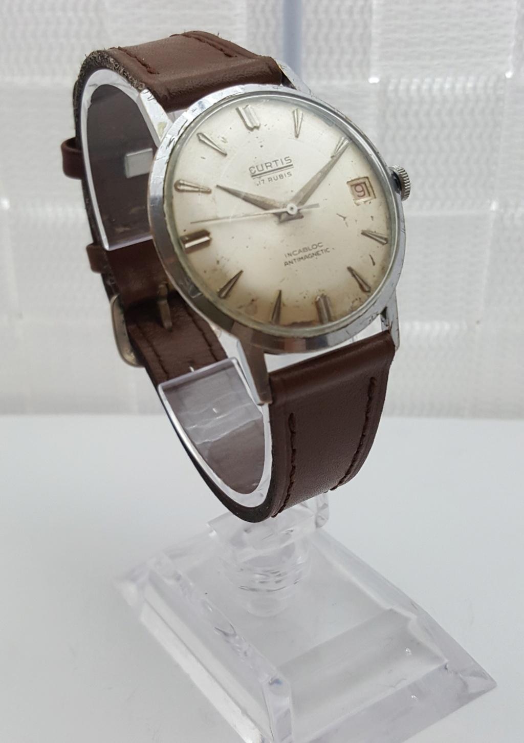 [Trocado] Relógio Vintage Curtis & Co. (Felsa 4017) 17J - 34 mm 0028