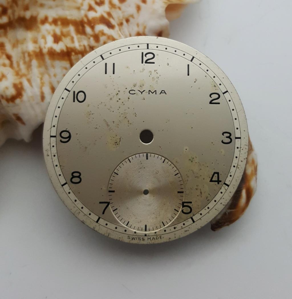 [Vendido] Mostrador CYMA 586/586K - 33.4mm - Usado 0031