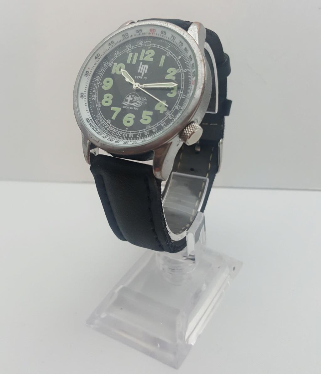 [Vendido] Relógio  LIP Type 10 Croix du Sud/Jean Mermoz Edt. - 100% OK 0115
