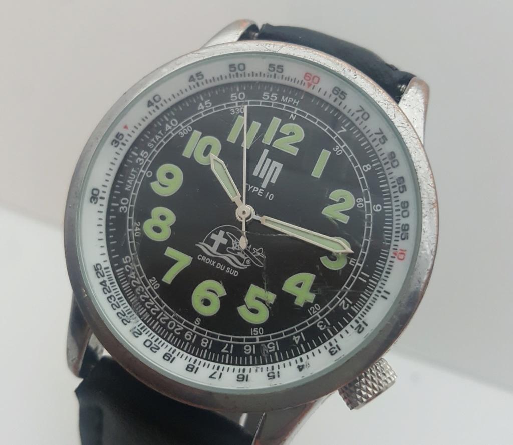 [Vendido] Relógio  LIP Type 10 Croix du Sud/Jean Mermoz Edt. - 100% OK 0314