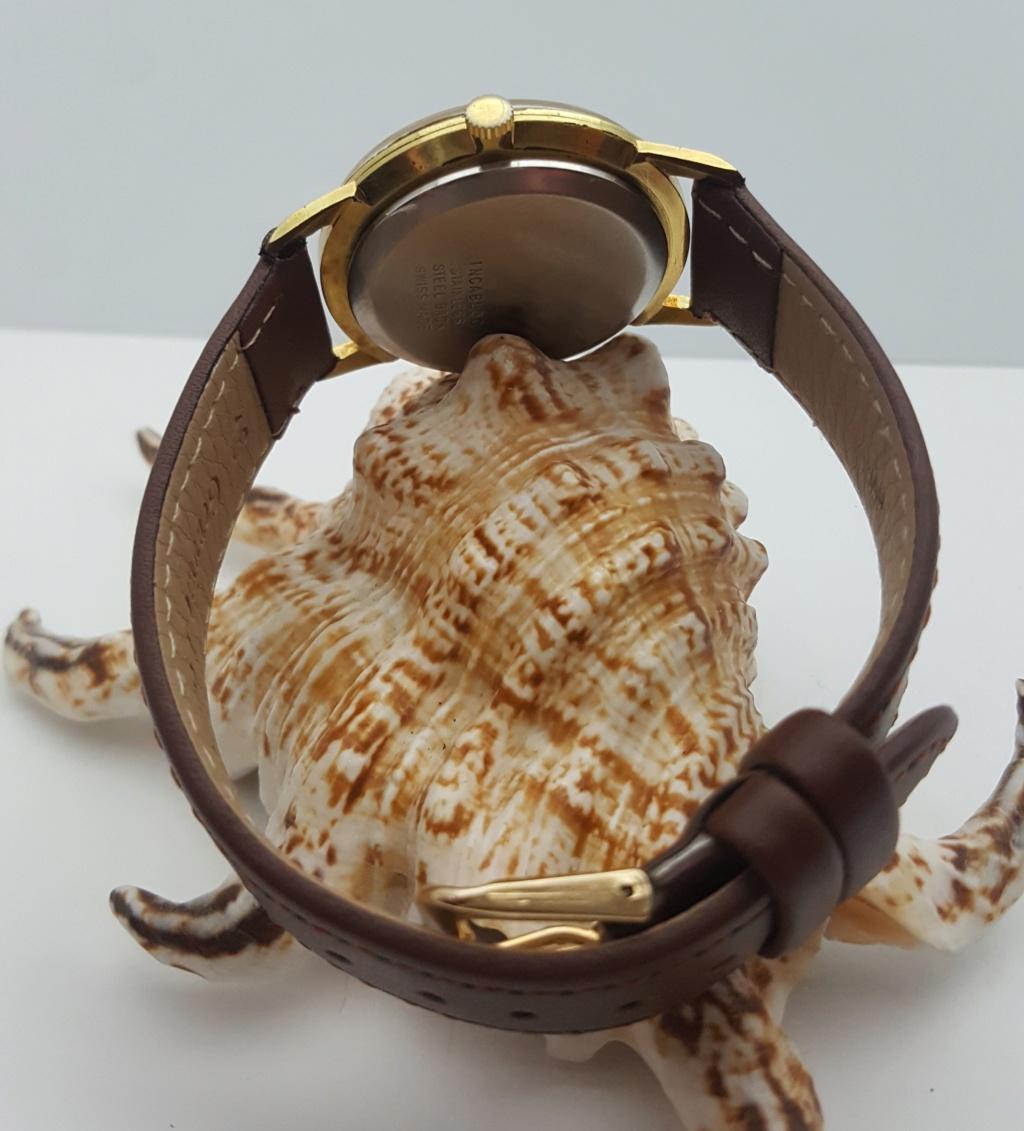 [Vendido] Relógio Vintage Limit - (FHF 97 - 17J) - c/ 34mm - Gold Plated G10 0516