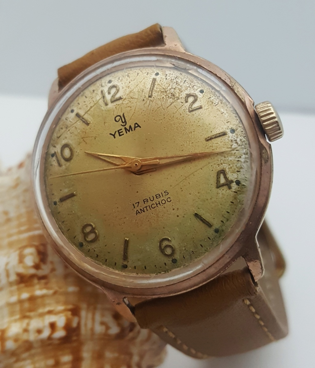 Relógios vintage de Coração  & Design Francês 0714