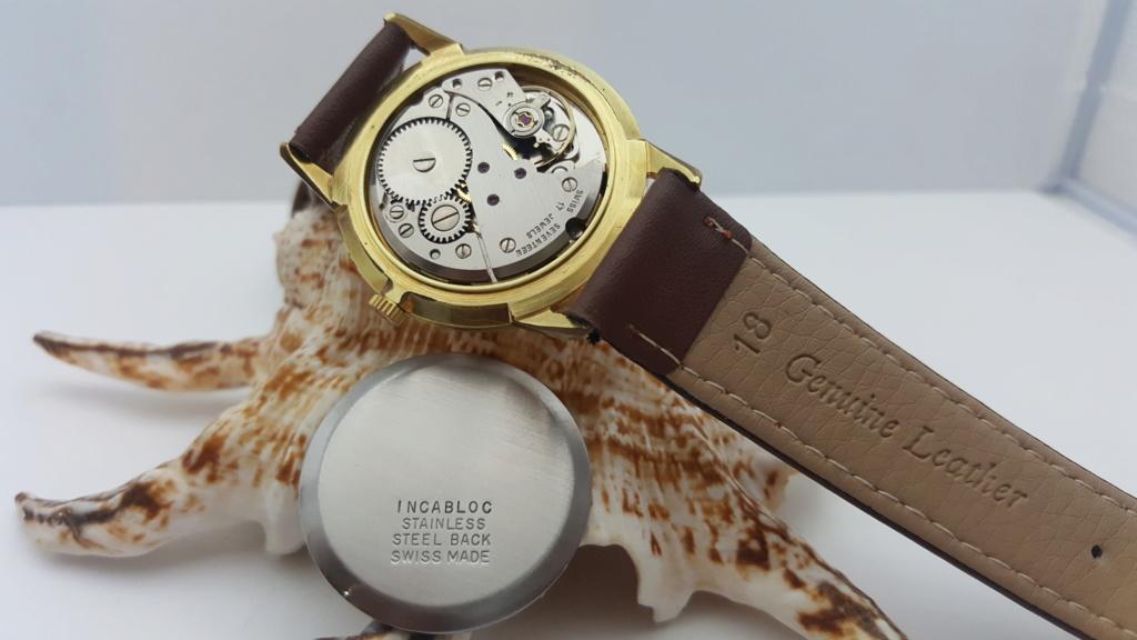 [Vendido] Relógio Vintage Limit - (FHF 97 - 17J) - c/ 34mm - Gold Plated G10 0715