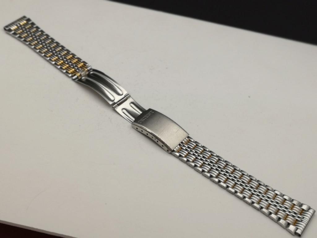[Trocado]  Bracelet Metalica ORIENT c/ 18mm largura + 16 cm comprimento Img_2055